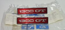 MK1 ESCORT GT 1300 GENUINE FORD NOS PAIR OF FRONT FENDER / GUARD / WING BADGES