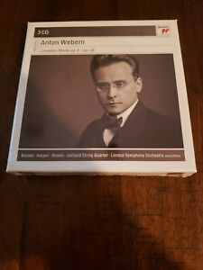 WEBERN: COMPLETE WORKS, OP. 1 - OP. 31 - V/A - 3 CD - IMPORT - **SEALED/NEW**
