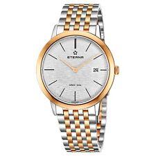 Eterna Men's Eternity Silver Dial Stainless Steel Quartz Watch 2710.53.10.1737