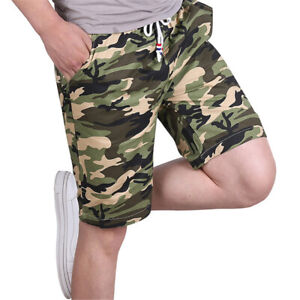 Men Casual Cotton Shorts Casual Running Training Cool Dry Gym Sweatpants