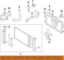 TOYOTA OEM 09-16 Corolla-Radiator Cooling Fan Blade 163610T041
