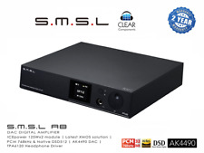 SMSL A8 DSD-DAC 768kHz 32BIT USB DA WANDLER AK4490  MINI AMP 2x125W HIGHEND-TOP!