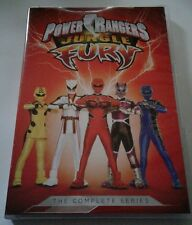 Saban's Power Rangers Jungle Fury: The Complete Series (DVD, 2017, 4-Disc Set)