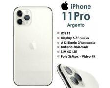 Apple iPhone 11 PRO 256GB Bianco Silver White LTE °°Sigillato°° Nuovo Grado A+++