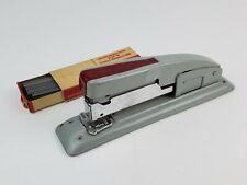 Vintage Swingline 400 Stapler Gray w/ Red press down Includes some staples too