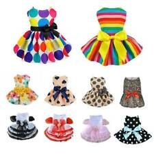 Cute Dog Cat Princess Dress Bow Skirt Puppy Costume Apparel Pet Clothes Summer