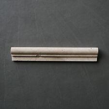 "1 Stück Stab Bordüre Travertin Light ""BULLNOSE"", antik Marmor, Pencil,Naturstein"