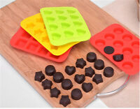 Silicone Ice Cube Tray Mold Maker Chocolate Fondant Moulds Candy Baking Mold
