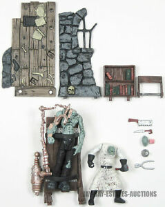 RARE MCFARLANE TOYS MONSTERS SERIES ONE FRANKENSTEIN PLAYSET ACTION FIGURE 1997
