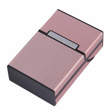 Women Aluminum Metal Cigar Cigarette Box Holder Tobacco Storage Case Gift