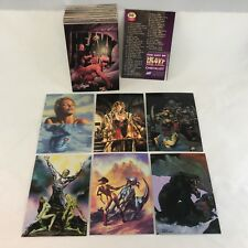 THE ART OF HEAVY METAL (Comic Images 1995) Complete Card Set SIMON BISLEY, ROYO