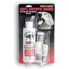 NEW LEG UP ENTERPRISE COYOTE URINE 100% SSCENT 8 FL OZ WITH 3 30 DAY DISPENSERS