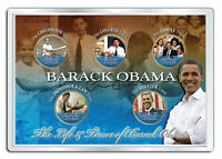 BARACK OBAMA *Life & Times* 24K Gold Plated Statehood Hawaii Quarter 5-Coin Set