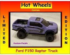 Hot Wheels Ford F150 Raptor 4x4 Truck Custom Purple