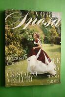 VOGUE Italia SPOSA 58 Settembre 1996 l'abito gioiello trimestrale magazine