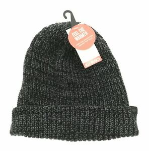 Dockers Mens Black Hat Winter Casual One Size