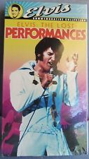 ELVIS THE LOST PERFORMANCES VHS TAPE UNOPENED NEW IN BOX