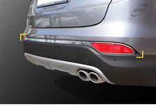 New Chrome Rear Bumper Molding 3Pcs K-518 For Hyundai 13-16 Santa Fe DM
