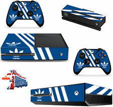 ADIDAS xbox one skins decals stickers + kinect + 2 controllers game