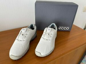 ecco Damen Women´s Golf BIOM G2 BOA Schuhe - Weiß/Arona, Gr.39-US 8-8,5, WIE NEU