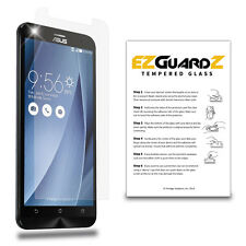 EZguardz Premium Real Tempered Glass Screen Protector Shield For Asus ZenFone 2