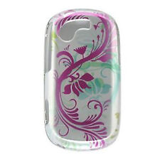 Silver Flower Hard Case Cover Samsung Gravity T T669