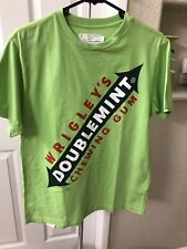 Chocoolate Wrigley's Doublemint Gum T Shirt sz Medium Green