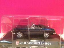 AUTO PLUS SUPERBE MG B CABRIOLET L 1964 1/43 NEUF SOUS BLISTER B1