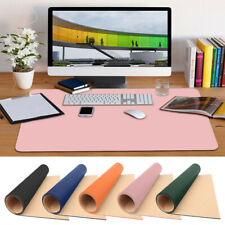 More details for pu leather desk mat large computer keyboard mouse pad for laptop pc office