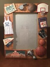 Russ Vintage Sports Basketball 4 X 6 Picture Frame Shadow Box