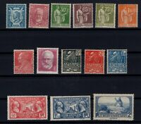 K139664/ FRANCE – YEARS 1924 - 1936 MINT MNH SEMI MODERN LOT – CV 110 $
