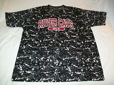 Sacramento River Cats Minor League Baseball Pullover Camo Jersey Shirt - Men XL