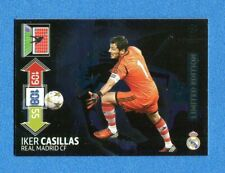 CHAMPIONS 2012-2013 -Adrenalyn Panini- Card LIMITED EDITION-CASILLAS-REAL MADRID