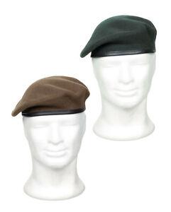 NEU Original Französisches Armee Barett COMMANDO Baskenmütze NATO Mütze BW