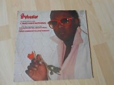 """12 """"Sylvester  I (Who Have Nothing) / You Make Me Feel (Mighty Real) 1979"""