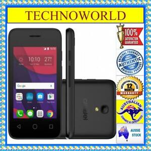 "UNLOCKED◉ALCATEL PIXI4 4017X◉VOLCANO BLACK◉3G◉ANDROID◉3.5""DISPLAY"