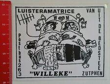 Aufkleber/Sticker: Willeke - Luisteramatrice (150516144)