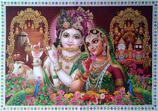 """Radha Krishna & Lord Jadannath - Big POSTER (Size: 20""""x28"""")"""