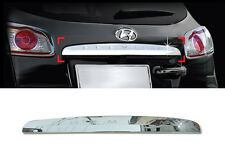 Chrome Rear Trunk Molding Garnish 1p For 2010-2012 Hyundai Santa Fe