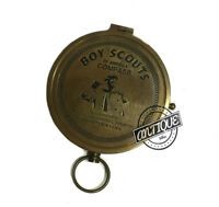 BSA Boy Scouts Of America Compass Steampunk Traveling Tool Camping Kids Presents