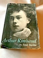 ARTHUR RIMBAUD Enid Starkie 1961 HB/DJ New Directions ARTHUR RIMBUAD