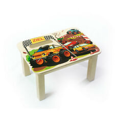 """Hess 30288 Footrest """"Monstertruck"""" for kids wood Ore Mountains new! #"""