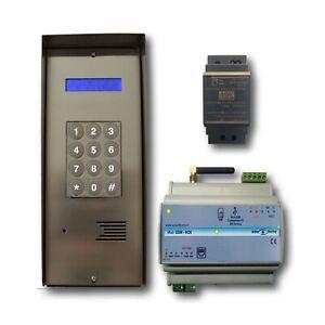 Kit Citofono GSM senza fili Citofono su smartphone apri cancello col cellulare
