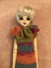J Doll Jun Planning With Shoes And Handknit Dress
