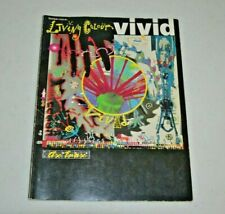 LIVING COLOUR VIVID Sheet Music Tablature Piano Vocal Guitar 1989 SONGBOOK
