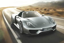 Porsche Sports Car wall art printed on canvas 22 X 14 inch solid frame