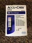 Accu-Chek Aviva Blood Glucose Diabetic Test Strips **BRAND NEW AND SEALED**