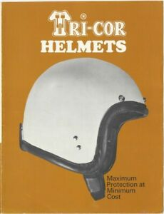1960s Triumph Tri-Cor Tiger & Scotty Motorcycle Helmets Advertising Brochure
