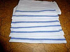 Salon & Spa Rag Towel Herringbone Weave Lint Free 100% Cotton Set of 6