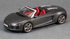 2012 Audi R8 Spyder in Daytona Grey 1:43 Scale Diecast Schuco 450752300